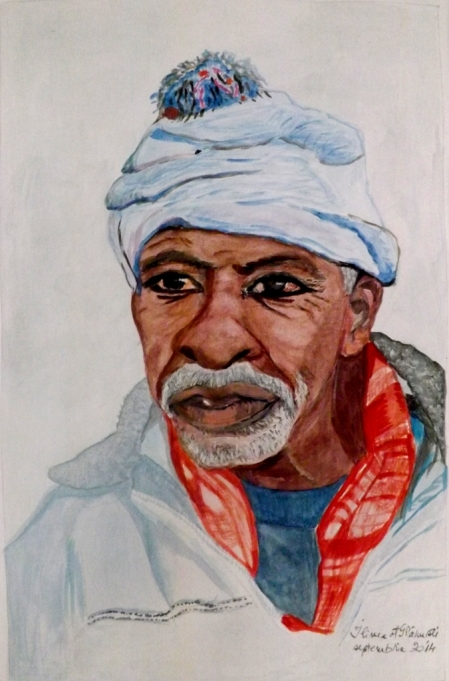 omul african B